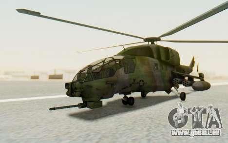 WZ-19 Attack Helicopter für GTA San Andreas rechten Ansicht