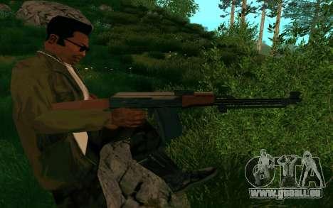 Le PKK pour GTA San Andreas cinquième écran