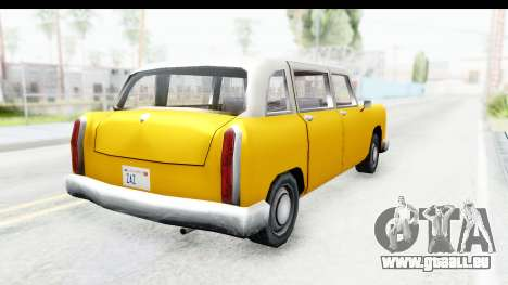 Cabbie London für GTA San Andreas linke Ansicht