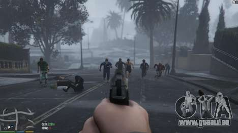 Zombies 1.4.2a pour GTA 5