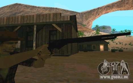 Winchester Model 1887 pour GTA San Andreas quatrième écran