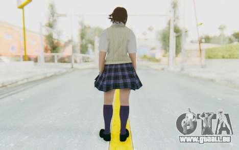Asuka Kazama (School) für GTA San Andreas dritten Screenshot