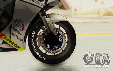 Honda RC212V für GTA San Andreas Rückansicht