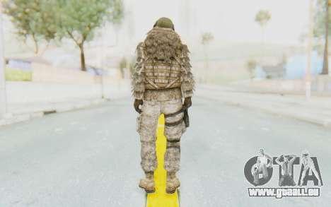 COD MW2 Ghost Sniper Desert Camo für GTA San Andreas dritten Screenshot