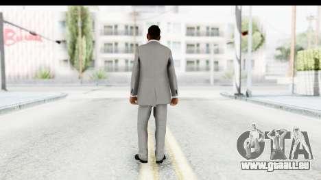 Messi Formal Fixed Up pour GTA San Andreas troisième écran