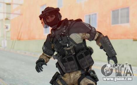 Federation Elite LMG Desert für GTA San Andreas