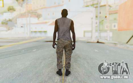 CoD MW3 Africa Militia v5 pour GTA San Andreas troisième écran