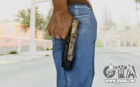 HK USP 45 Army pour GTA San Andreas troisième écran