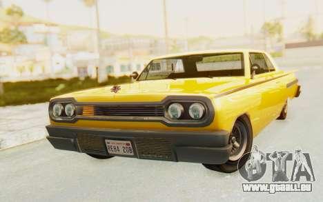 GTA 5 Declasse Voodoo PJ SA Lights pour GTA San Andreas