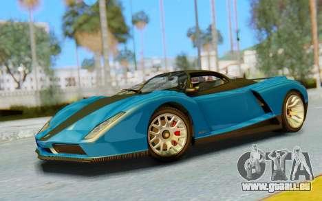 GTA 5 Grotti Cheetah SA Lights pour GTA San Andreas