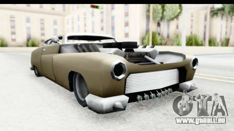 Hermes Ratrod für GTA San Andreas zurück linke Ansicht