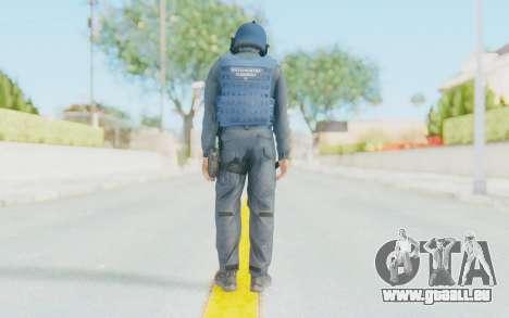 Interventna Jedinica Policije Srbije pour GTA San Andreas troisième écran