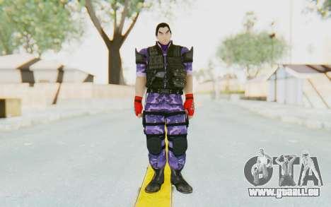 Kazuya Mishima (Ops Suit) pour GTA San Andreas deuxième écran