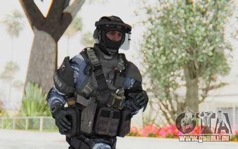 Federation Elite LMG Urban-Navy für GTA San Andreas