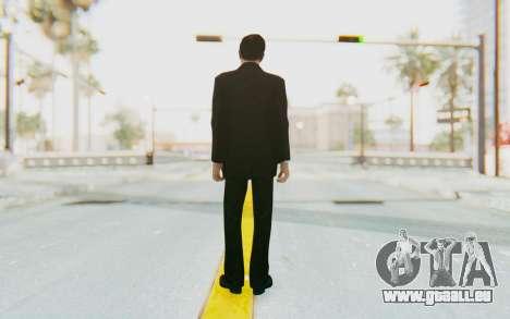 Mafia 2 - Vito Scaletta Madman Suit B&W pour GTA San Andreas troisième écran