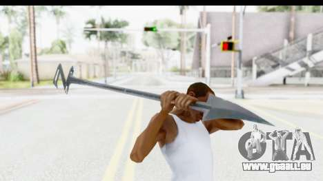 Lord Zedd Weapon pour GTA San Andreas troisième écran