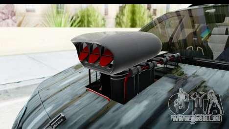 Renault Megane Sport pour GTA San Andreas vue arrière