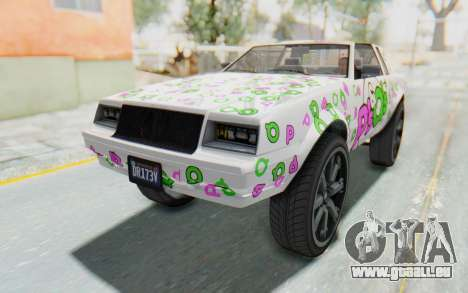 GTA 5 Willard Faction Custom Donk v2 pour GTA San Andreas roue