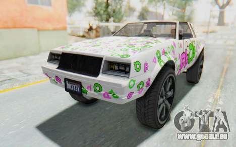 GTA 5 Willard Faction Custom Donk v2 für GTA San Andreas Räder