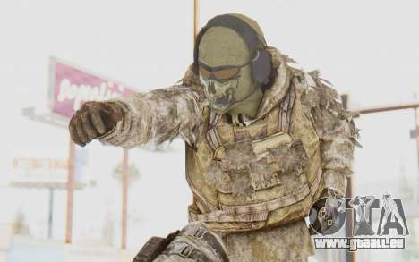 COD MW2 Ghost Sniper Desert Camo für GTA San Andreas