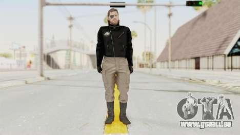 MGSV Phantom Pain BIG BOSS Leather Jacket pour GTA San Andreas deuxième écran