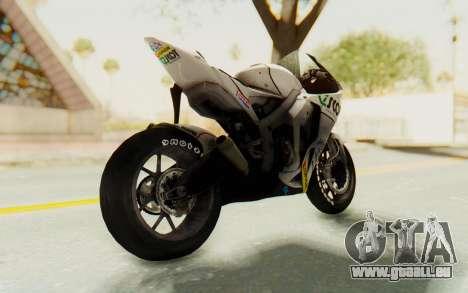 Honda RC212V für GTA San Andreas zurück linke Ansicht