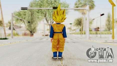Dragon Ball Xenoverse Goten SSJ pour GTA San Andreas troisième écran