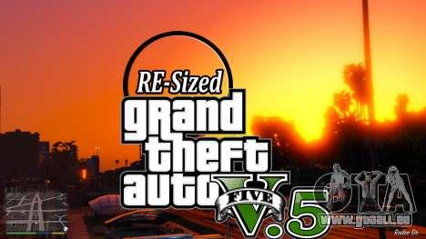 GTA V RE de la Taille d'V5.5 ( Stable ) pour GTA 5