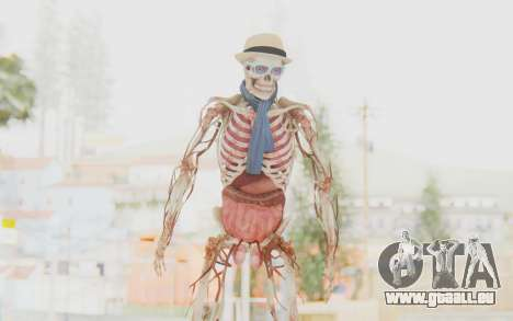 Skeleton with Hat and Glasses für GTA San Andreas