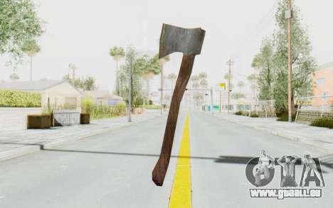CoD Ghosts DLC Michael Myers Weapon pour GTA San Andreas troisième écran