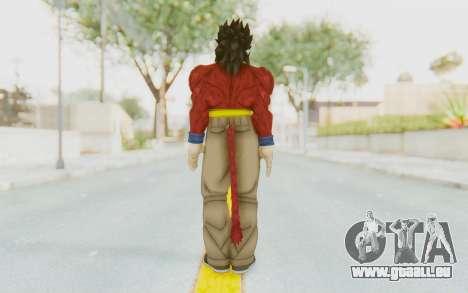 Dragon Ball Xenoverse Gohan SSJ4 pour GTA San Andreas troisième écran