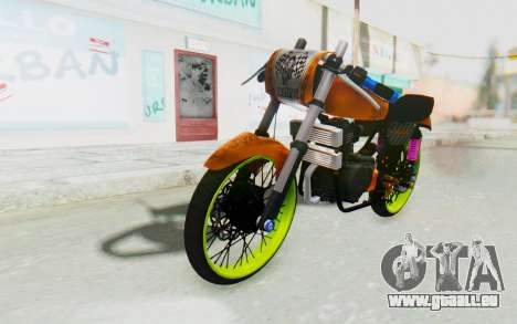 Honda CG125 Roadrace für GTA San Andreas