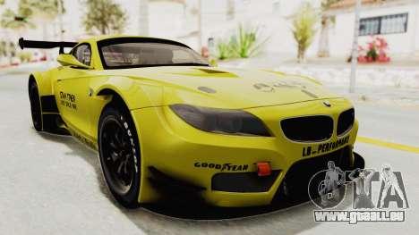 BMW Z4 Liberty Walk pour GTA San Andreas vue de droite