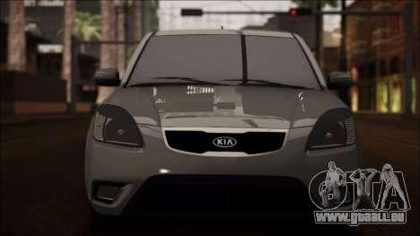 Kia Rio für GTA San Andreas obere Ansicht