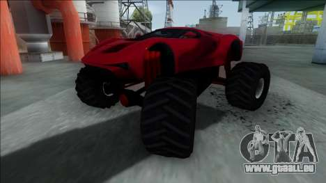 GTA V Vapid FMJ Monster Truck für GTA San Andreas