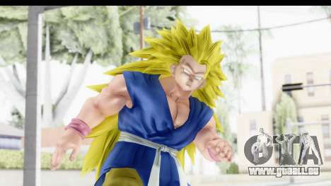 Dragon Ball Xenoverse Goku GT Adult SSJ3 pour GTA San Andreas