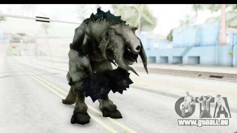 DOOM 3 - Guardian of The Hell für GTA San Andreas zweiten Screenshot
