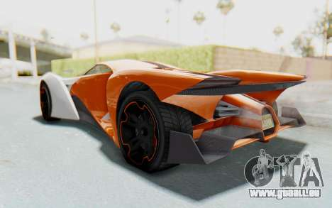 GTA 5 Grotti Prototipo v1 IVF pour GTA San Andreas vue de droite