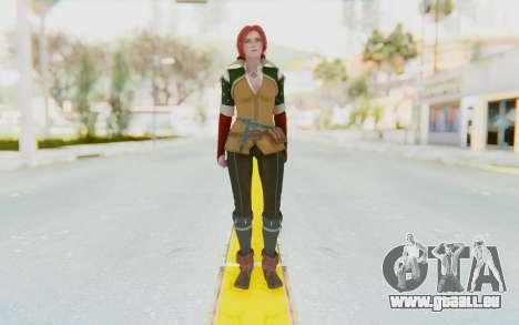 Triss Merigold pour GTA San Andreas deuxième écran