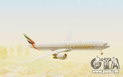 Boeing 777-300ER Emirates für GTA San Andreas