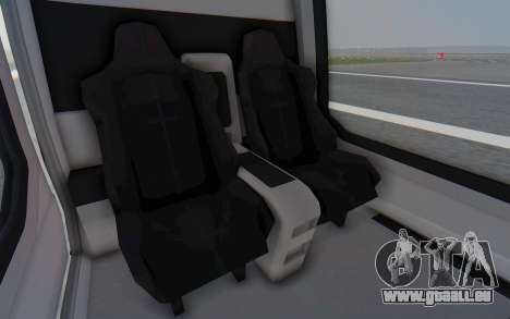 GTA 5 Buckingham Volatus v2 für GTA San Andreas Rückansicht
