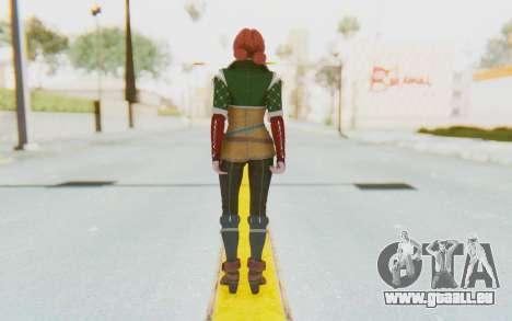 Triss Merigold pour GTA San Andreas troisième écran