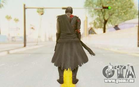 Dead Or Alive 5 Last Round - Raidou pour GTA San Andreas troisième écran