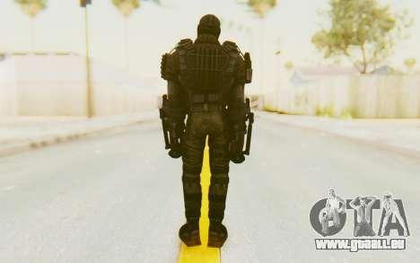 Marvel Heroes - Crossbones pour GTA San Andreas troisième écran