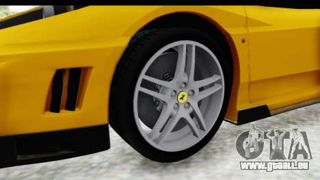Ferrari F430 SVR pour GTA San Andreas vue arrière
