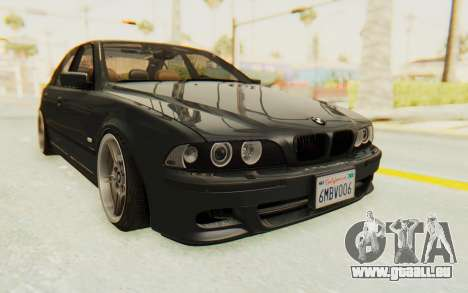 BMW M5 E39 M-Tech USDM pour GTA San Andreas vue de droite