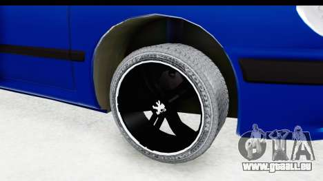 Peugeot 406 Cabrio Beta 0.8.3 für GTA San Andreas Rückansicht