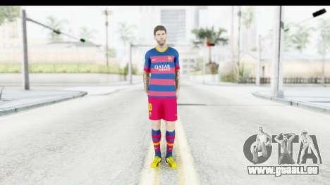 Lionel Messi für GTA San Andreas zweiten Screenshot