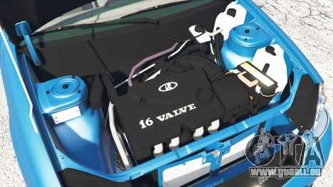GTA 5 Lada Priora Sport Coupe v0.1 rechte Seitenansicht