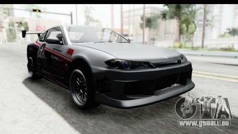 Nissan Silvia S15 Itasha pour GTA San Andreas vue de droite
